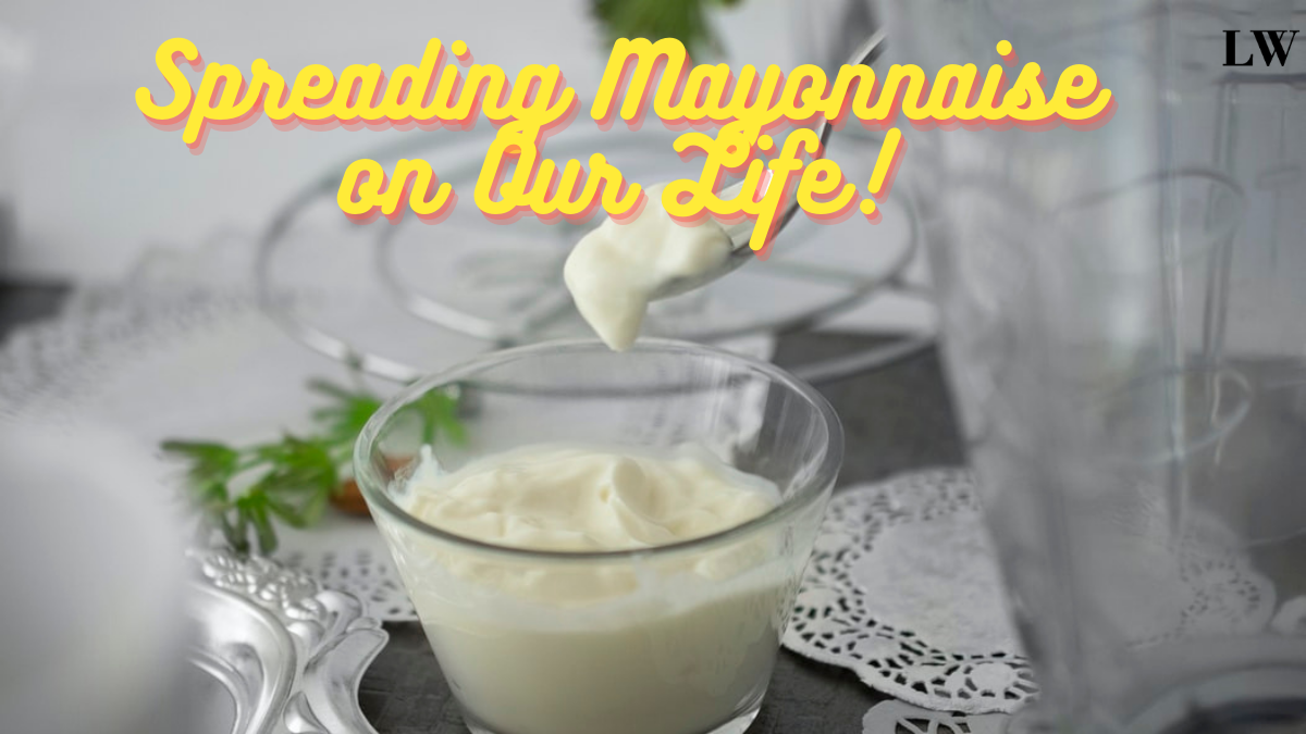 A dollup of mayonnaise.